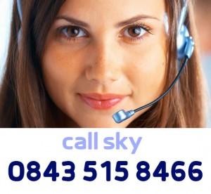 Sky TV Contact Number - 0843 515 8466
