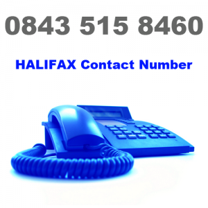 Halifax Contact Number - 0843 515 8460